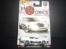 Hot Wheels Nissan Skyline 2000 GT-R Police Japan Historics 1/64