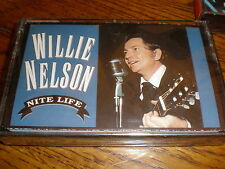 Willie Nelson CASSETTE NEW Nite Life