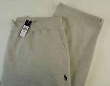 Polo Ralph Lauren Fleece Cotton Blend Track Sweatpants w Pony Logo $125 4 Colors
