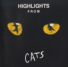 HIGHLIGHTS FROM CATS - ELAINE PAIGE / PAUL NICHOLAS ETC.- SOUNDTRACK CD
