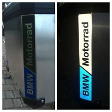 RIFRANGENTI REFLECTIVE BMW MOTORRAD BLU/NERO BLACK/BLUE -The1200stickerS