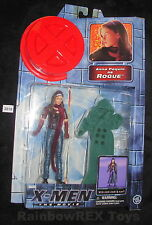 X-MEN The Movie ANNA PAQUIN as ROGUE w/ Cloth Cloak Toy Biz 2000 Marvel Fig. #3