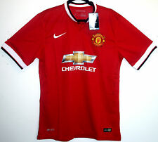 NEW! BNWT! MANCHESTER UNITED HOME SHIRT 2015/2016 L LARGE 42 - 44 15/16 MAN UTD