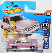 Hot Wheels THE SIMPSONS FAMILY CAR # 112/365 2017 NEU OVP