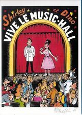 """ex libris Margerin: """"Shirley et Dino"""" -  Numéroté et signé"""
