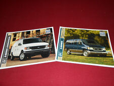 2004 FORD ECONOLINE E-SERIES VAN WAGON CONVERSIONS BROCHURE + COMMERCIAL CATALOG