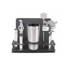 Bartender Tool Kit Shaker Cocktail Stainless Drink Mixer Bar Set Party Cool Gift