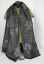 Giorgio Armani Collezioni Scarf Black Floral Silk Wrap SOLD OUT!!!