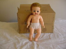 Vintage 1954-1962 Ideal Toys doll, Betsy Wetsy, 15in tall, VW-3,drink & wet doll
