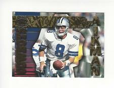 1996 Pacific Gems of the Crown #GC21 Troy Aikman Cowboys