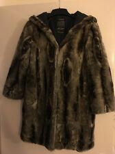 River Island Brown Faux Fur Hooded Coat 10