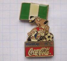 COCA-COLA / WORLD CUP USA 94 MASCOT STRIKER NIGERIA  ..... Pin (142k)