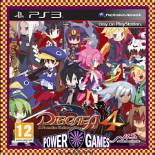 Disgaea 4: A Promise Unforgotten PS3 (Sony PlayStation 3) Brand New