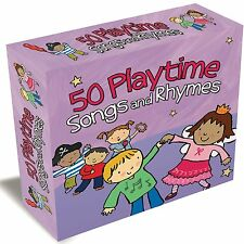 50 Playtime Songs and Rhymes  New & Sealed  3 CD Box Set Kids Children's