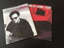 BILLY JOEL EASY PIANO & STORM FRONT PIANO VOCAL GUITAR SONG MUSIC BOOKS