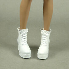 1/6 Phicen, Hot Toys, Play Toy, Kumik, Zy - Female Glossy White Motorcycle Boots