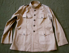 H0F WWI US ARMY INFANTRY M1912 SUMMER COMBAT FIELD TUNIC JACKET-SMALL