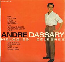 """ANDRE DASSARY """"MELODIES CELEBRES"""" 60'S LP  BARCLAY 80.206S"""