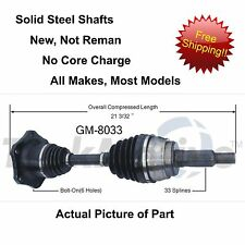 1995-1999 CHEVY/GMC K1500 SUBURBAN GAS 4x4 CV Axle Shaft-New Front-Left/Right