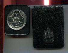 1975 Canada Commemorative Silver Dollar - Calgary Stampede