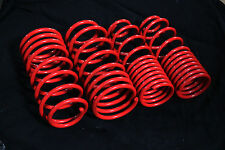 89-94 MITSUBISHI ECLIPSE 1G 420A / 4G63 4PCS COIL LOWERING SPRING LOWER KIT RED