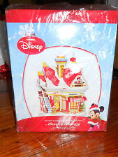 DEPT 56 DISNEY VILLAGE MINNIE'S BAKERY *Excellent Display* + MINNIE'S COOKIES