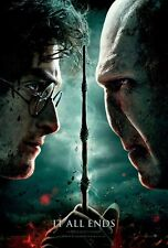"""Harry Potter movie poster - Deathly Hallows Part 2 advance,   11"""" x 17"""""""