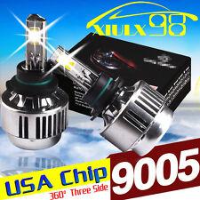 2x 9005 HB3 H10 9140 9145 CREE LED Headlight CONVERSION KIT 8000LM 80W HID White