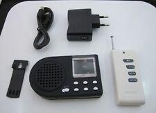 Richiamo Elettronico Uccelli Display LCD, Ricaricabile ,Telecomando e Cavo USB