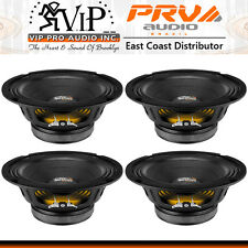 "PRV Audio 8MB450-4 8"" Pro Audio Mid-bass Woofer 4 Ohm 225W Car Mid-Range (FOUR)"
