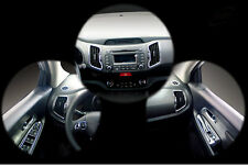 New Chrome Interior Cover Molding 12 pcs K330 for Kia Sportage 2011 ~ 2015