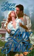 Lady Pirate, Lynsay Sands, Good Condition, Book