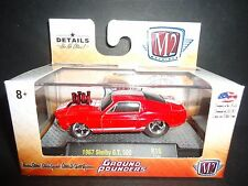 M2 Shelby GT500 1967 Red Ground Pounders 1/64 82161-16 LTD 2888 units