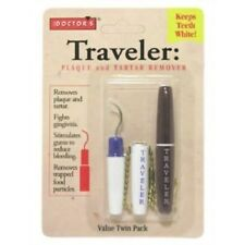 Doctor's Traveler Plaque and Tartar Remover, Twin Pack