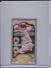 Roy Oswalt 2012 Topps Gypsy Queen Variation Mini Card Boxtopper Photo Image