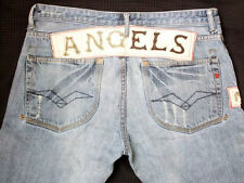 *REPLAY BLUE JEANS HOSE*MC ANGELS*TORSION*BLAU*GR: 36*TIP TOP