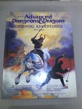 AD&D DONJONS DUNGEONS & DRAGONS livre ORIENTAL ADVENTURES - neuf - anglais