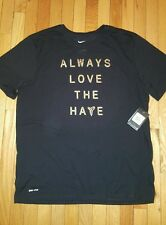 Nike Kobe FTB Fade to Black Love Hate Tee Shirt size. Large