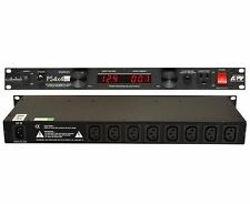 ART PS4x4 PRO Power Distribution System 1800W 1U Rack Mountable w/ 8 Rear Outlet