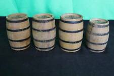 Vintage Wurzburger Hofbrau Mini Beer Barrels Antique Budweiser Collectible