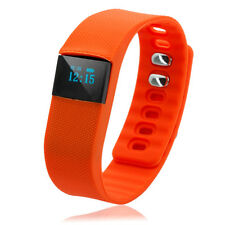 Waterproof Bluetooth Smart Wrist Watch Bracelet TW64 for Android IOS Phone Orang
