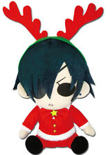 "*NEW* Black Butler: Ciel Phantomhive Christmas Festive 6"" Plush by GE Animation"
