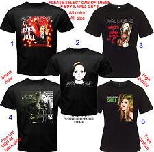Avril Lavigne Concert Tour T-shirt All Size S,M,L~5XL,Kids,Baby