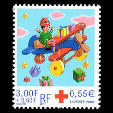 France 2000 - Red Cross Children's Art - Sc B704 MNH