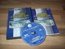 Heroes Chronicles: Masters of the Elements pc avec Manuel