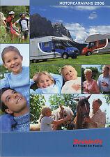 Prospetto DETHLEFFS MOTORE Ruolotte 2006 opuscolo viaggio mobile Globetrotter Esprit