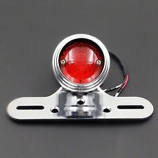 LED Tail Brake Light For Harley Honda Kawasaki Suzuki Yamaha Cafe Racer Triumph