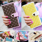 New Fashion Lady's Women Zip Bag PU Leather Long Purse Clutch Wallet Card Holder