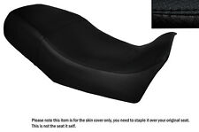 BLACK STITCH CUSTOM FITS YAMAHA XV 1000 TR1 81-85 DUAL LEATHER SEAT COVER