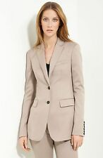 $1,595 Burberry Prorsum 10 12 44 Stretch Wool Women Jacket Suit Blazer Lady Gift